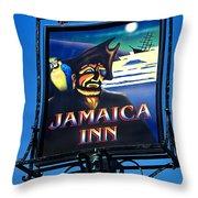 Jamaica Inn On Bodmin Moor Throw Pillow