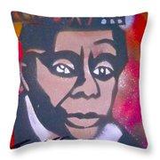 James Baldwin Throw Pillow