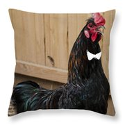 James Bond Is Here Throw Pillow