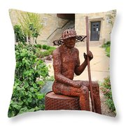 James Brunner Sculpture 1559 Throw Pillow