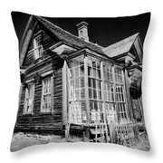 James Cain House Throw Pillow