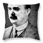 James Connolly (1870-1916) Throw Pillow