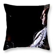 James Cromwell As Dr Arthur Arden @ Tv Serie American Horror Story Asylum Throw Pillow