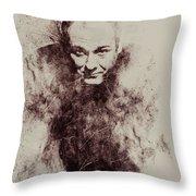 James Gandolfini Throw Pillow