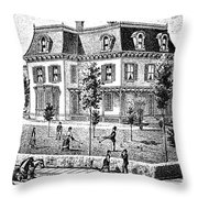 James Holly Residence Throw Pillow