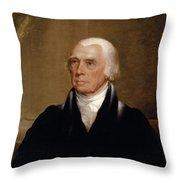 James Madison Throw Pillow