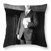 James Rowland Angell Throw Pillow