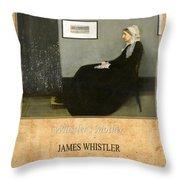James Whistler 1 Throw Pillow