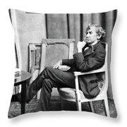 James Whistler (1834-1903) Throw Pillow