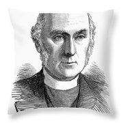 James Woodford (1820-1885) Throw Pillow