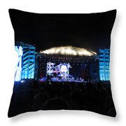 Jamfest Throw Pillow