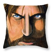 Jamie Lannister...game Of Thrones Throw Pillow