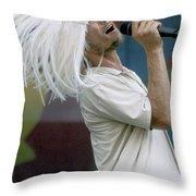 Jamiroquai Throw Pillow