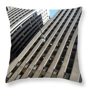 Jammer Architecture 004 Throw Pillow
