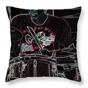 Jammer  By Jrr Throw Pillow