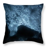 Jammer Deep Blue 002 Throw Pillow