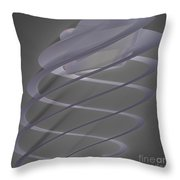 Jammer Delicate Auger Throw Pillow