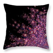 Jammer Frizzles Throw Pillow
