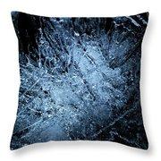 jammer Frozen Cosmos Throw Pillow