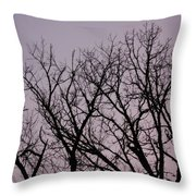 Jammer Fuzzy Trees 002 Throw Pillow
