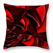 Jammer Rose 005 Throw Pillow
