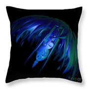 jammer Space Jelly  Throw Pillow