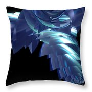 Jammer Turbo Sheen 001 Throw Pillow