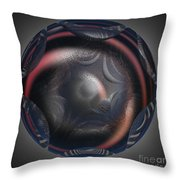Jammer Worlds Within Throw Pillow by First Star Art