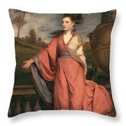 Jane Fleming, Later Countess Throw Pillow