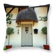 Janes Cottage Nether Wallop Throw Pillow