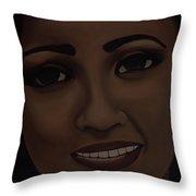 Janice 17 Throw Pillow