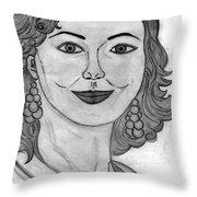 Janka Throw Pillow