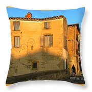 The Lady Of Limoux Throw Pillow