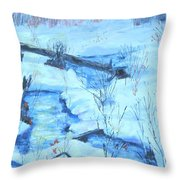 January Thaw 2  Throw Pillow