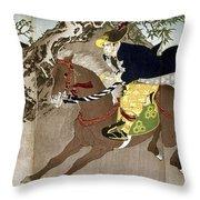 Japan Boshin War, 1868 Throw Pillow