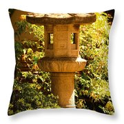Oriental Lantern Throw Pillow