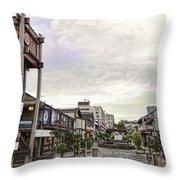 Japantown - Nihon Machi - San Francisco Throw Pillow