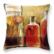 Jars  @ Ariesartist.com Throw Pillow