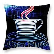 Java Plus Throw Pillow