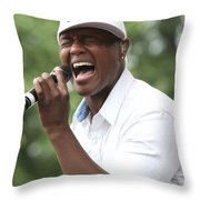 Javier Colon Throw Pillow