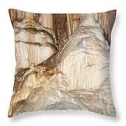 Javorice Caves Throw Pillow by Michal Boubin