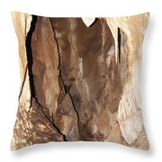 Javoricko Stalactite Cave Throw Pillow