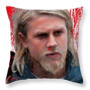 Jax Unloaded Throw Pillow