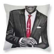 Jay Z Throw Pillow by Eric Dee