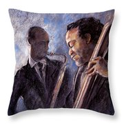 Jazz 02 Throw Pillow