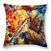 Jazz Feel Throw Pillow