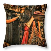 Jazz Funeral New Orleans Vintage Throw Pillow