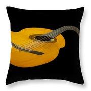 Jazz Guitar 2 Throw Pillow