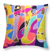 Jazz Live Throw Pillow