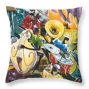 Jazz No. 4 Throw Pillow